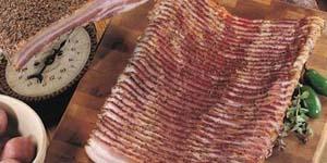 sliced smoked bacon