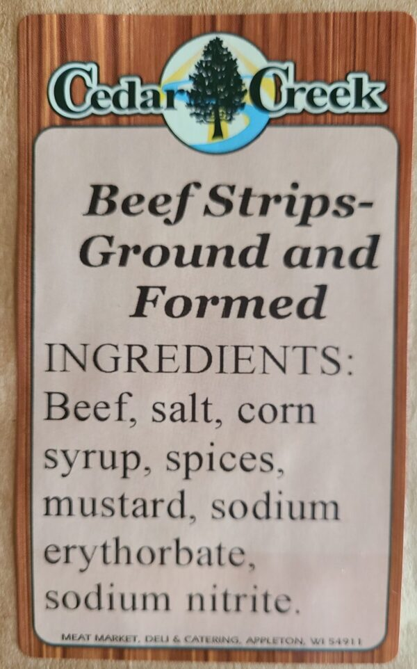Structured Jerky