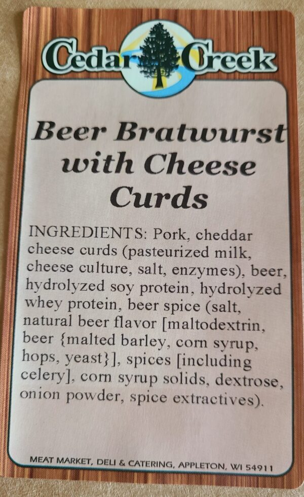 beer and curd